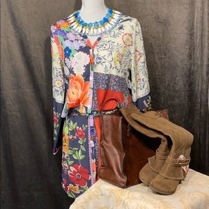 Button front kimono top from Misslook!